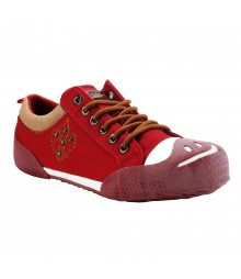 Vostro Men Casual Shoes Aero05 Red VCS0431